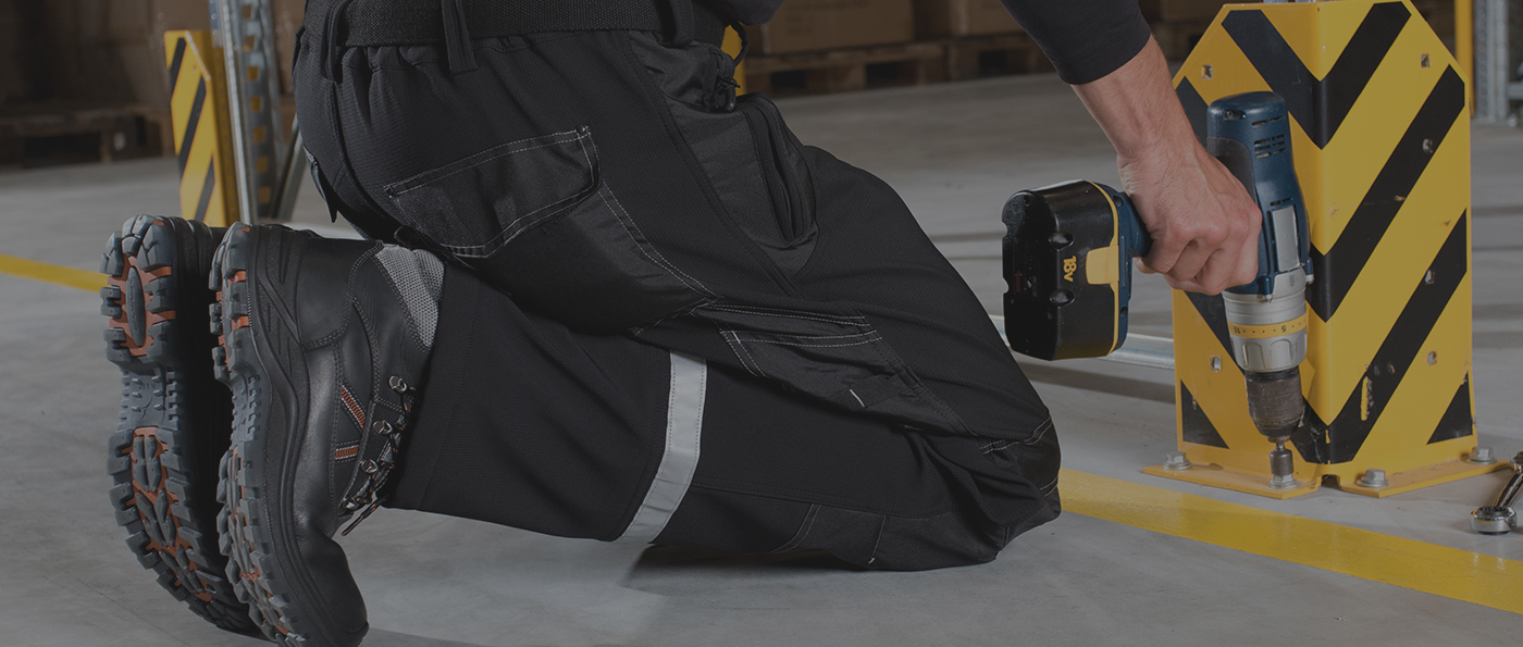 Montage et démontage des rayonnages et protections industrielles